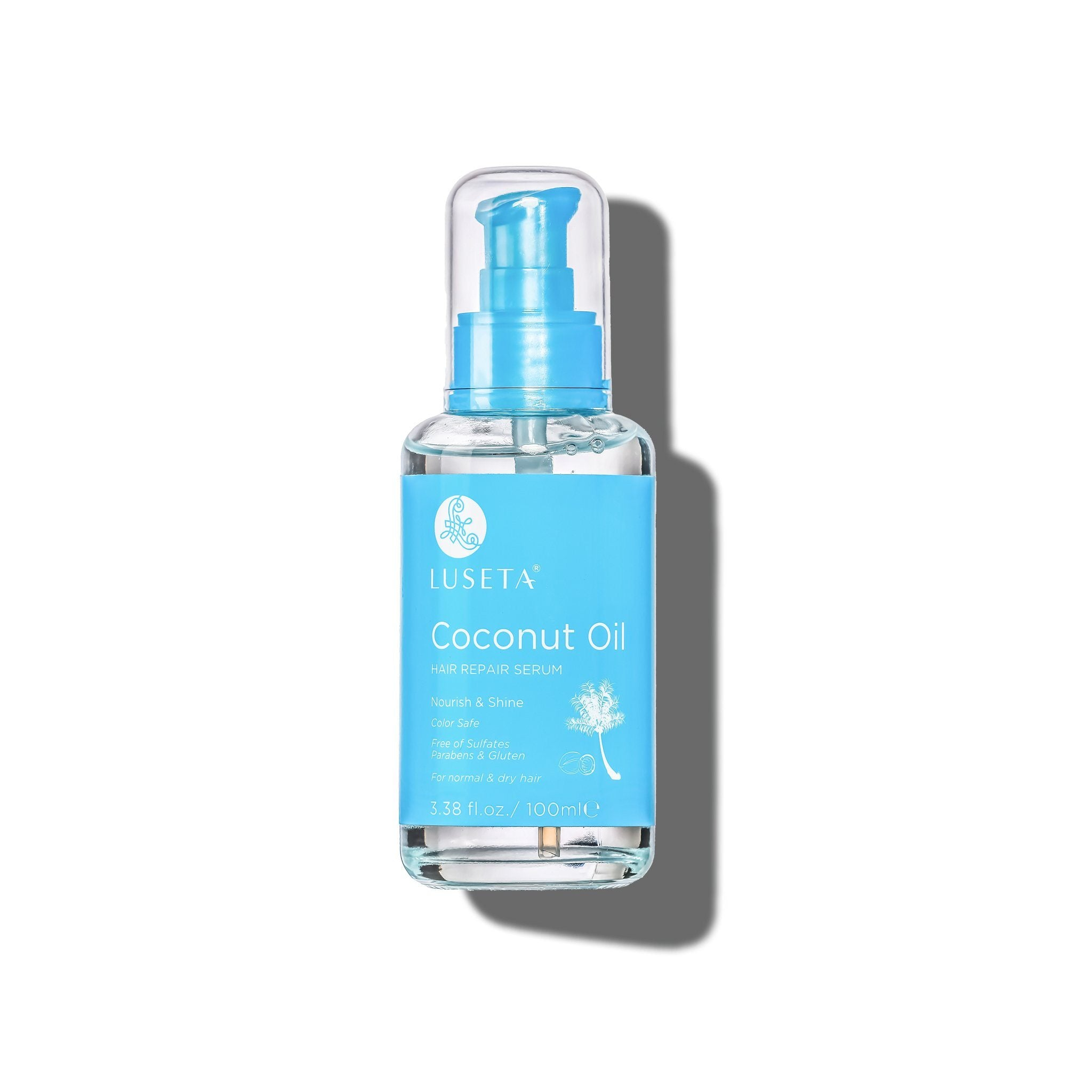 --Coconut Oil Hair Repair Serum - Luseta Beauty--
