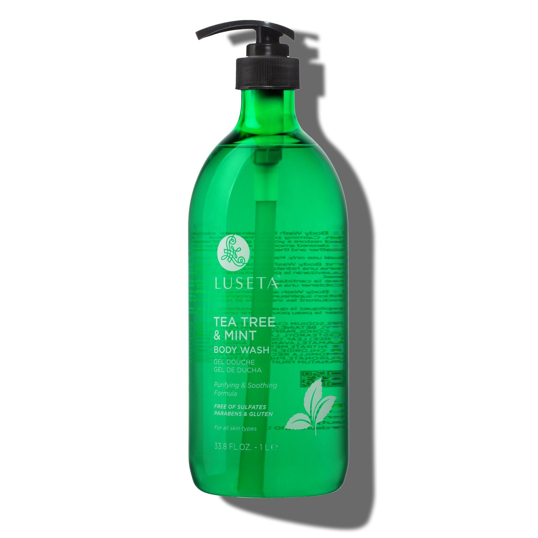 Tea Tree & Mint Body Wash - Luseta Beauty