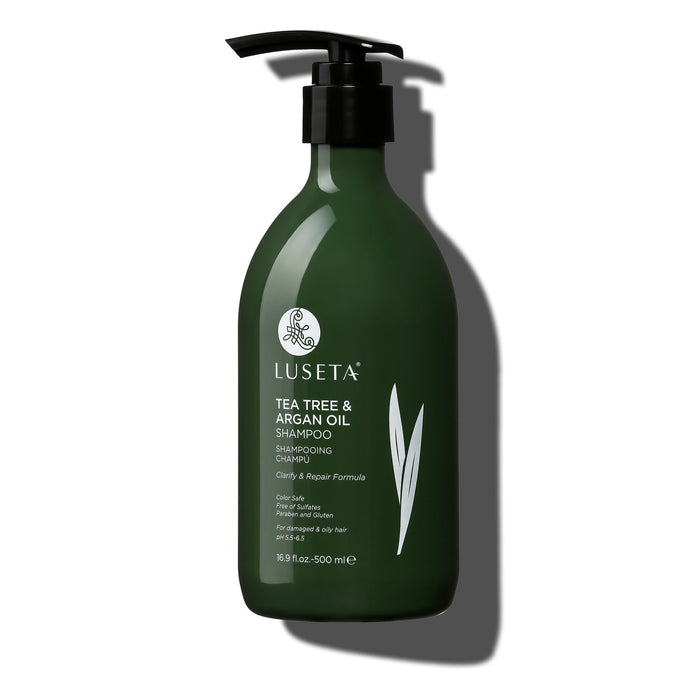 Tea Tree & Argan Oil Shampoo - Luseta Beauty