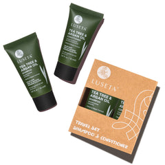 Tea Tree & Argan Oil Travel Set Duo