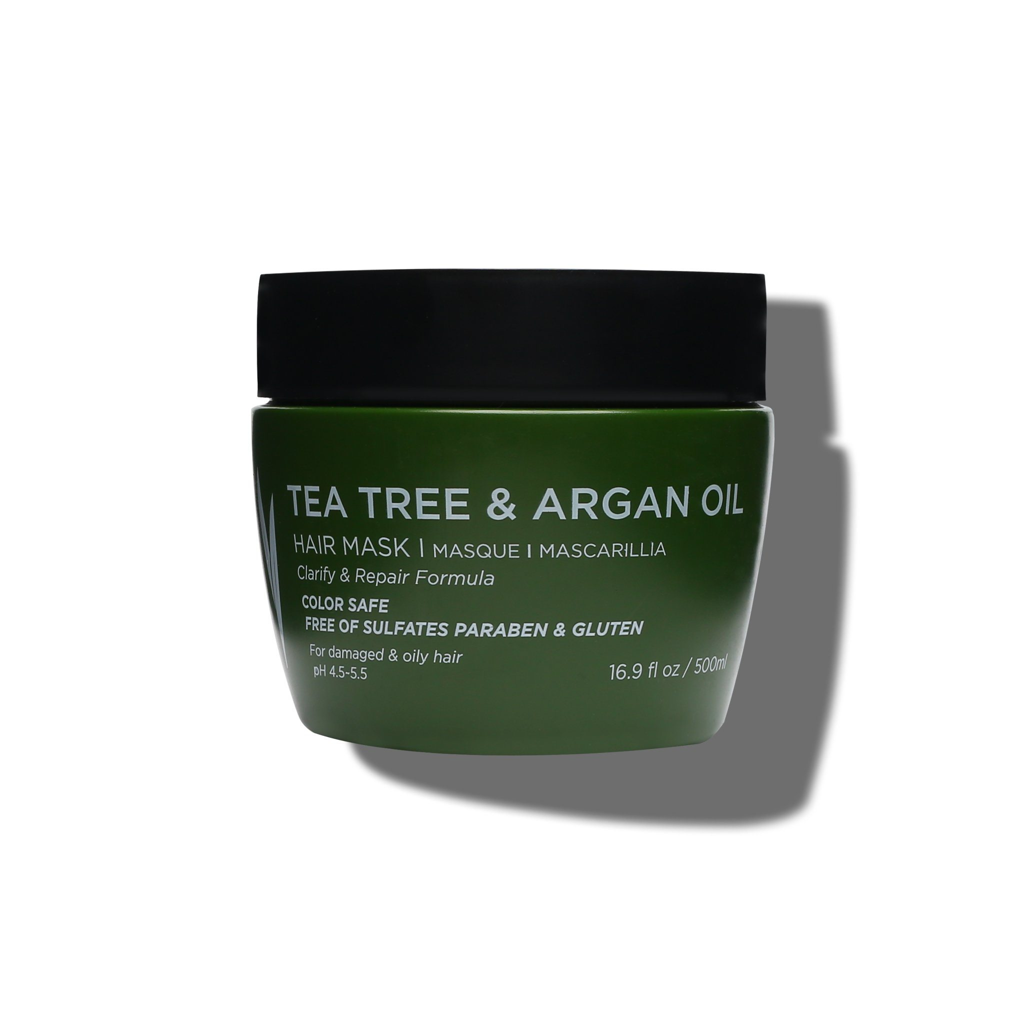Tea Tree & Argan Oil Hair Mask - Luseta Beauty