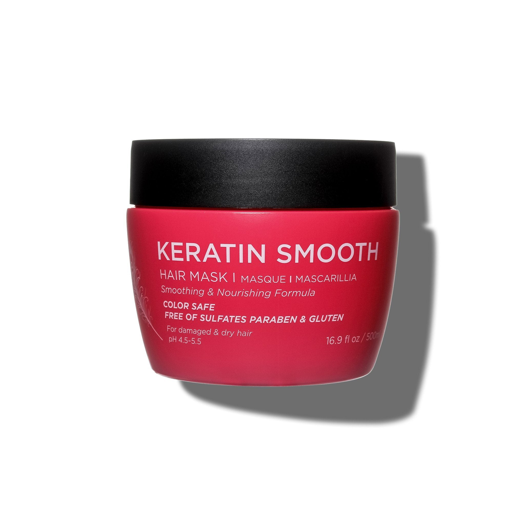 --Keratin Smooth Hair Mask - Luseta Beauty--