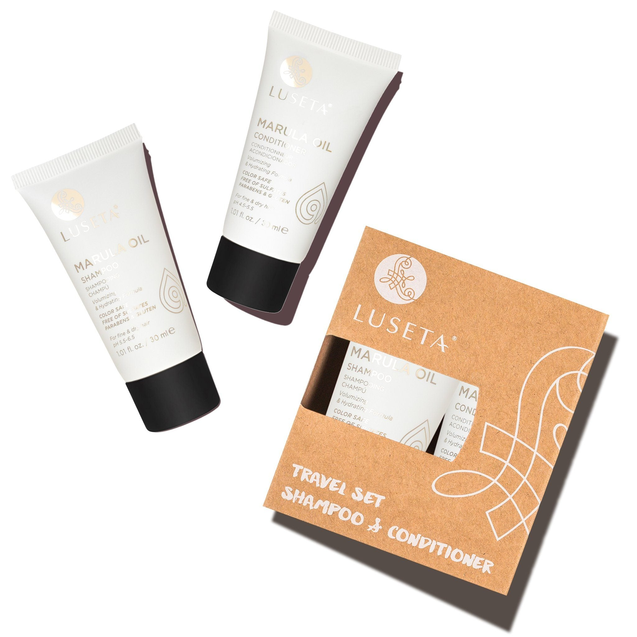 --Marula Oil Travel Set Duo - Luseta Beauty--