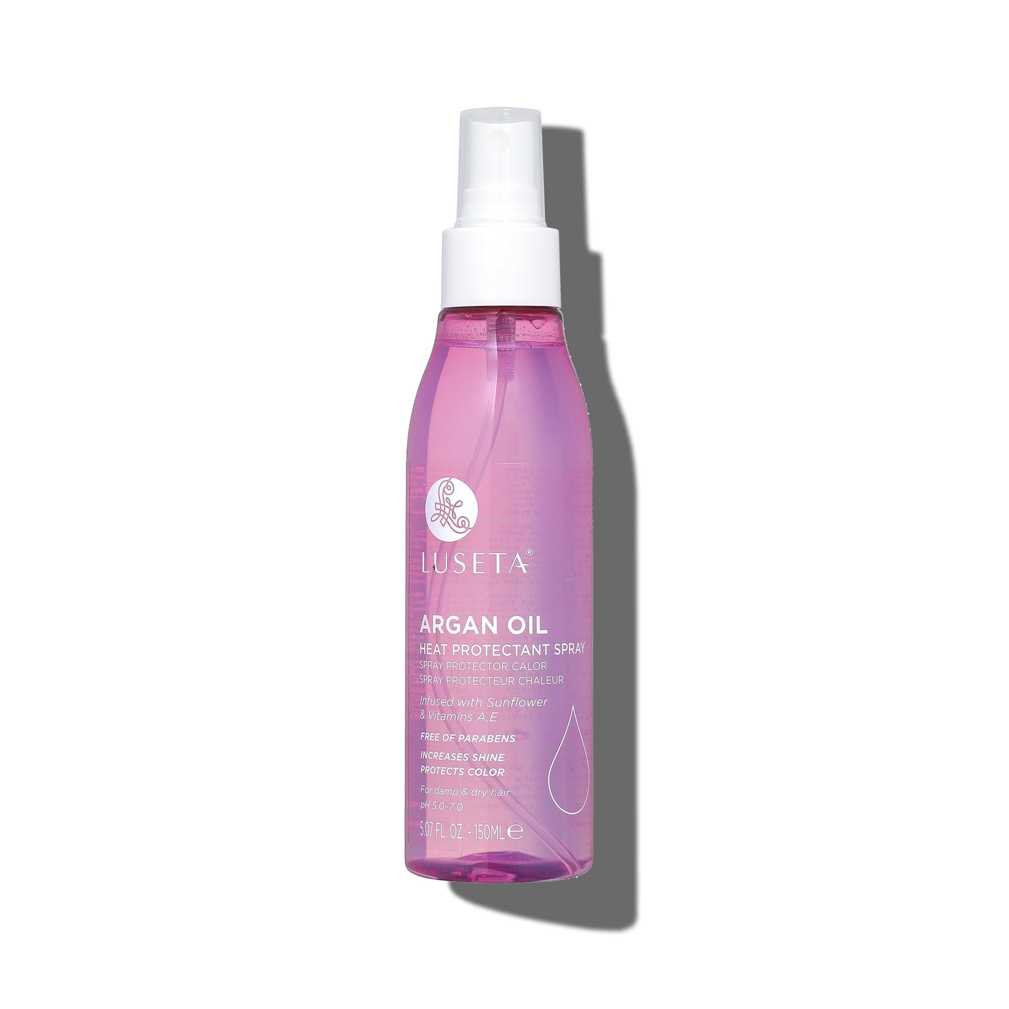 --Argan Oil Heat Protectant Spray - Luseta Beauty--