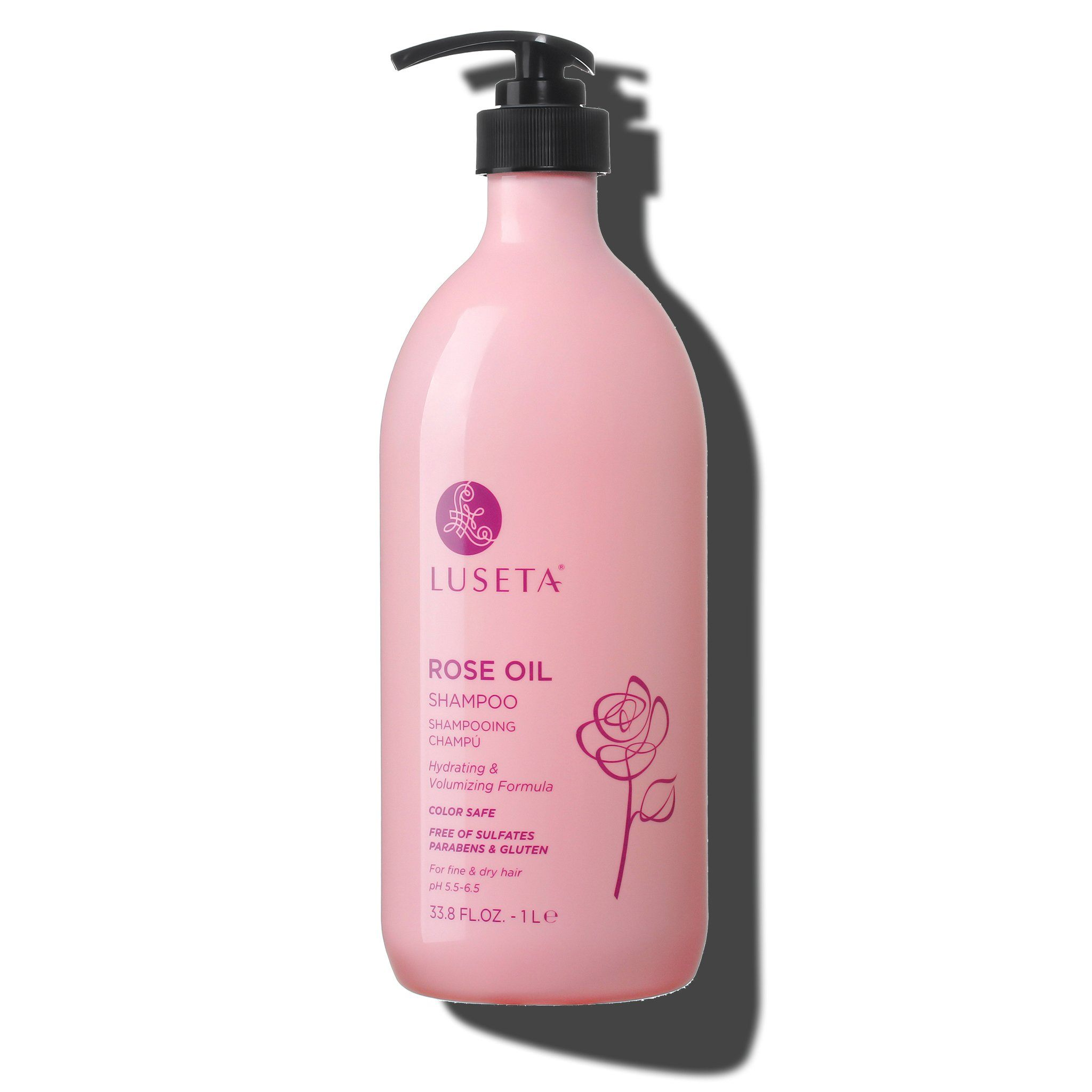 --Rose Oil Shampoo - Luseta Beauty--