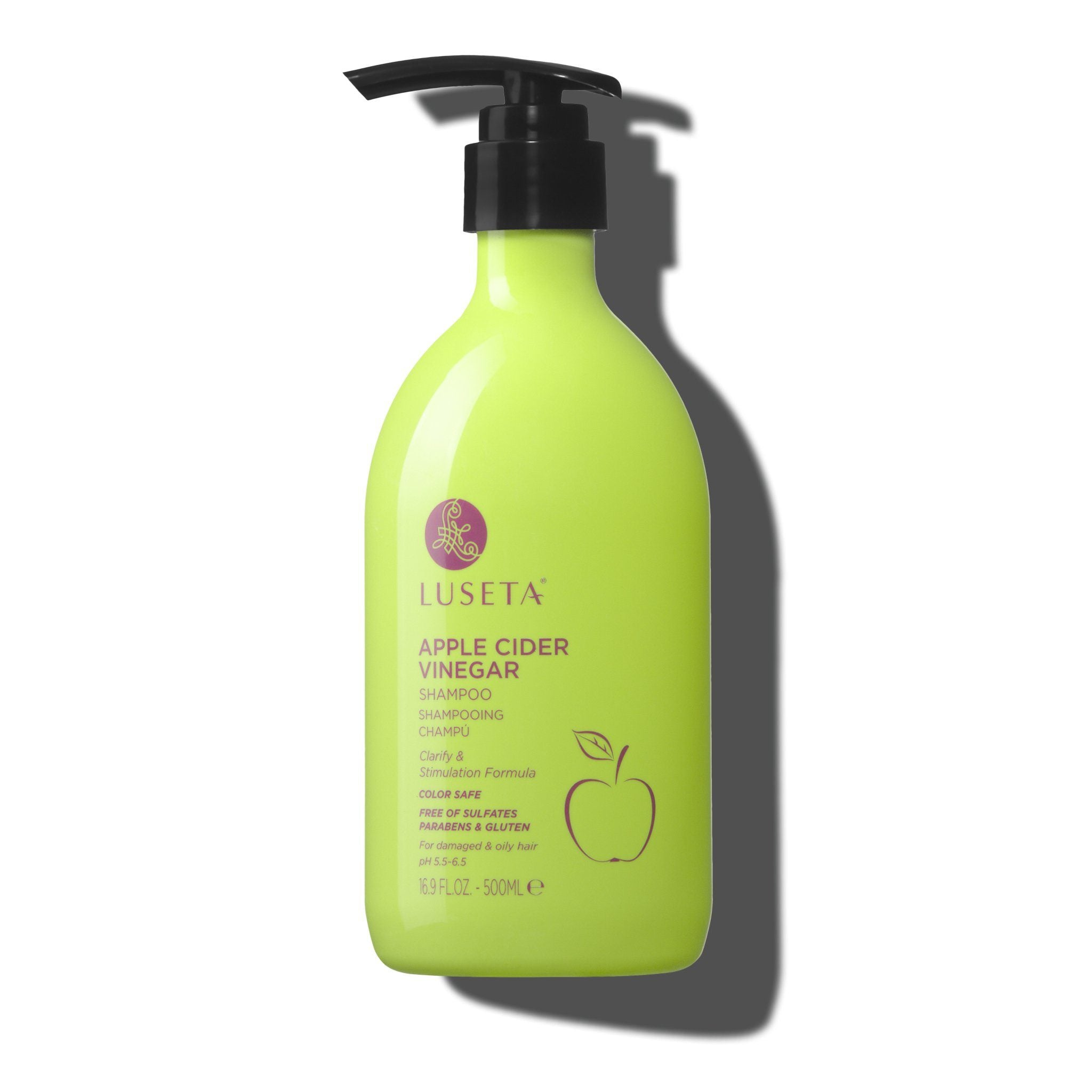 --Apple Cider Vinegar Shampoo - Luseta Beauty--