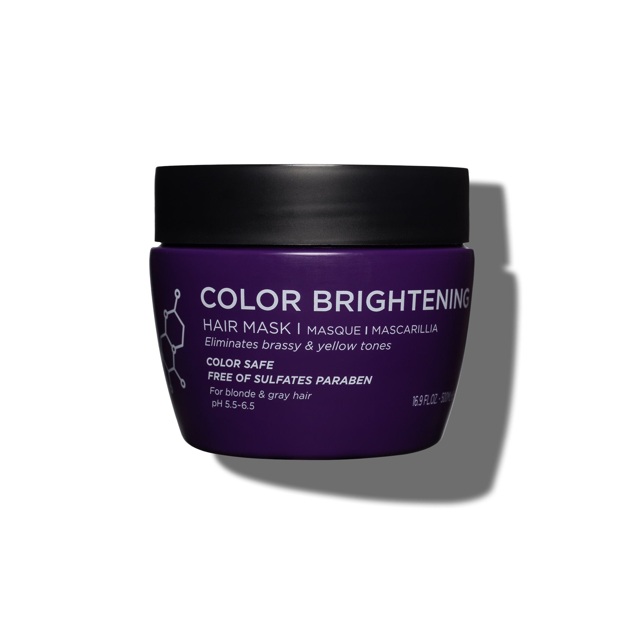 Color Brightening Hair Mask