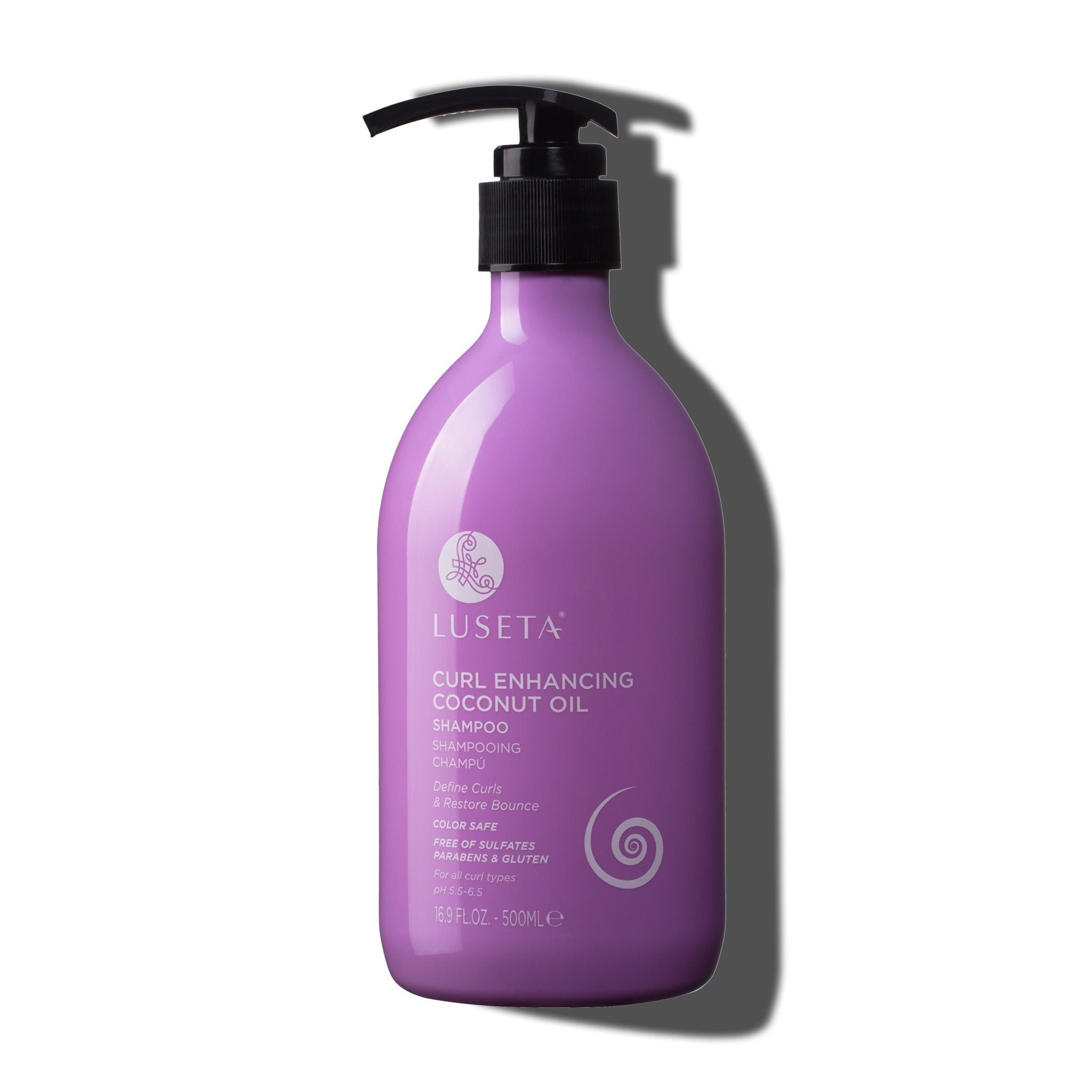 --Curl Enhancing Coconut Oil Shampoo - Luseta Beauty--