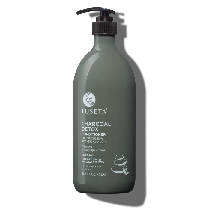 Charcoal Detox Conditioner - Luseta Beauty