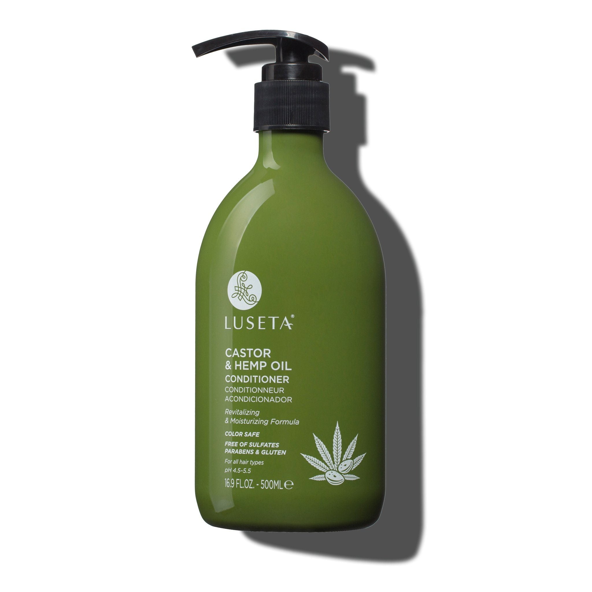 --Castor & Hemp Oil Conditioner - Luseta Beauty--