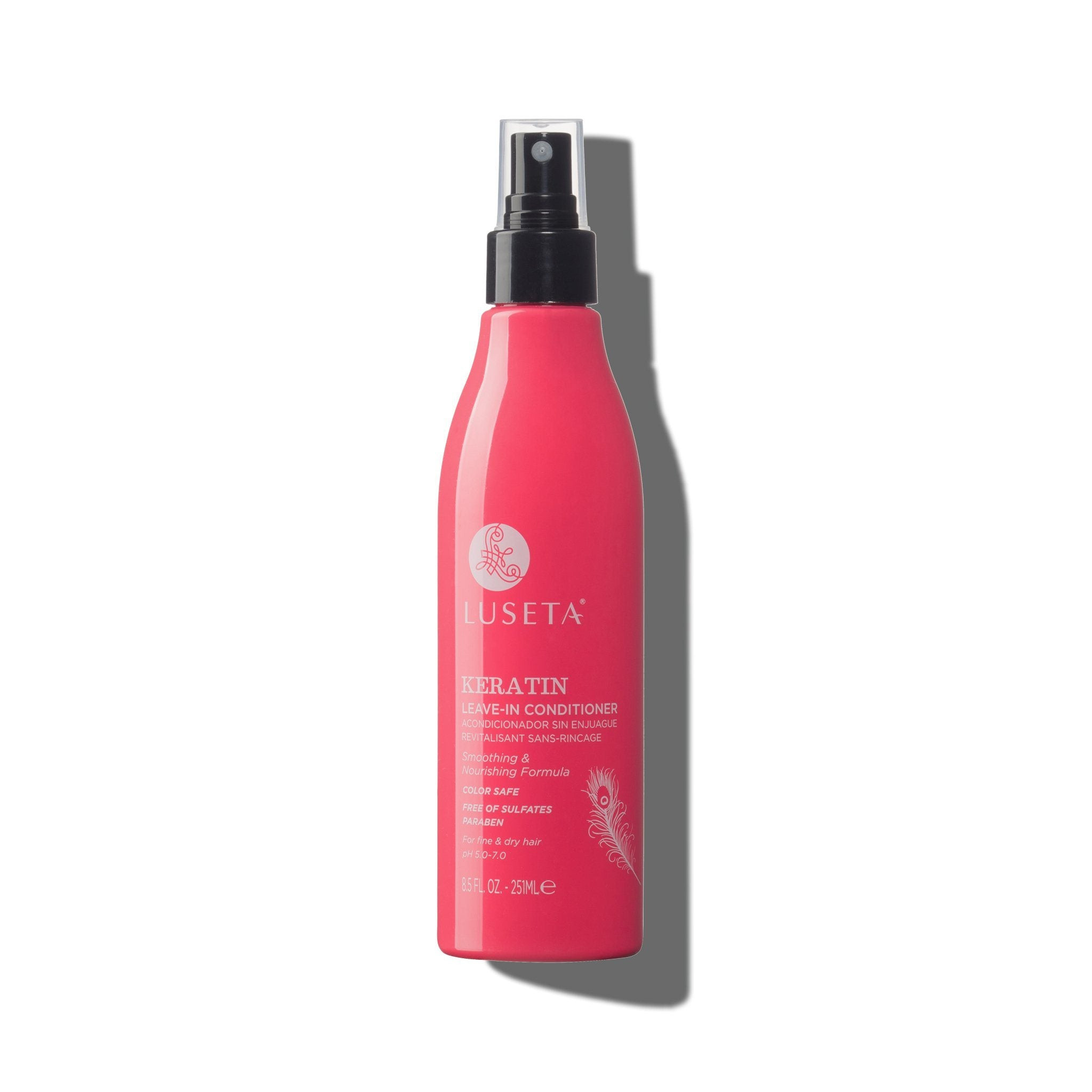 --Keratin Smooth Leave-in Conditioner - Luseta Beauty--