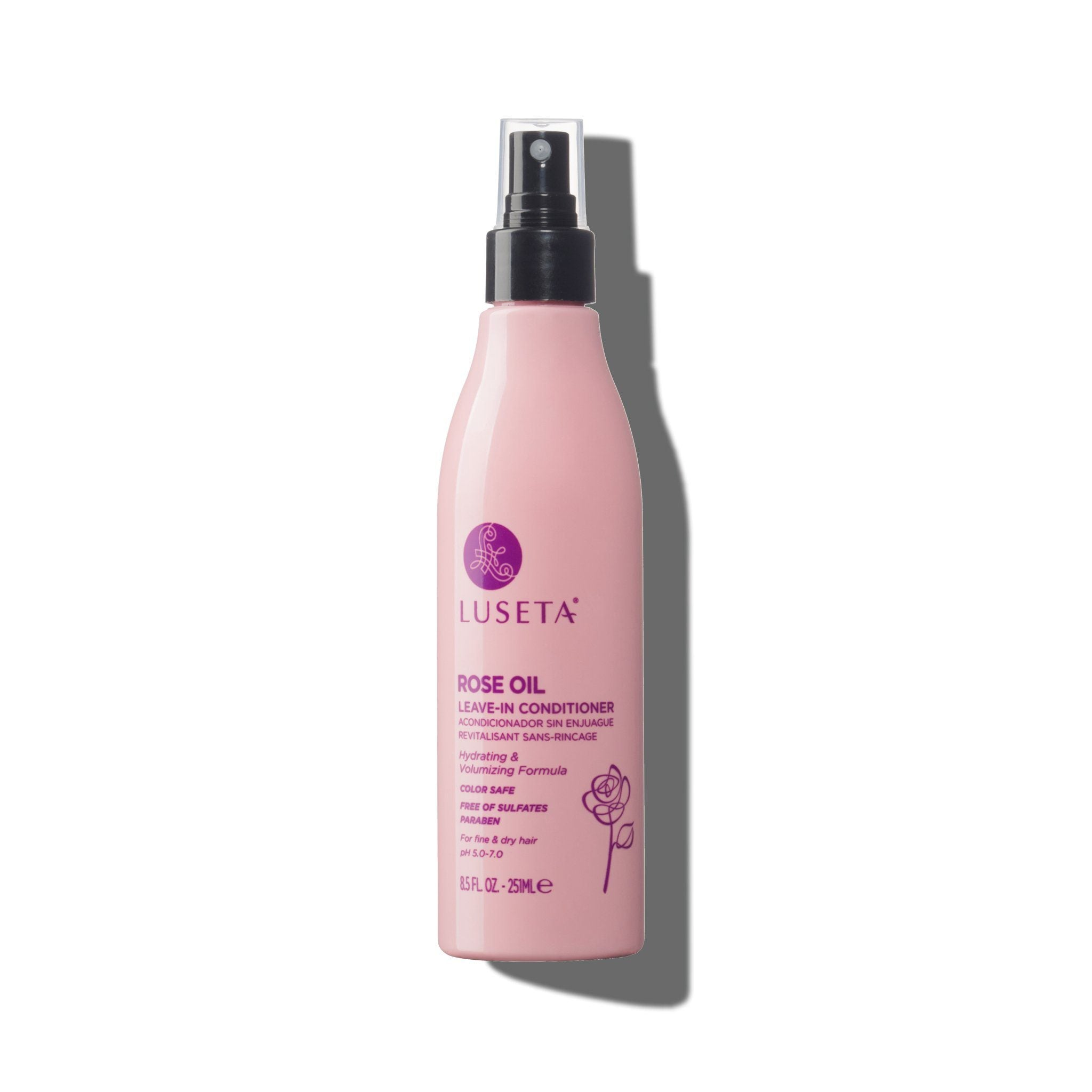 --Rose Oil Leave-in Conditioner - Luseta Beauty--