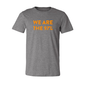 Grey We Are The 97% Tee