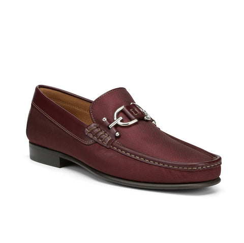 Donald J Pliner Men's Dacio-N Loafer in Wine