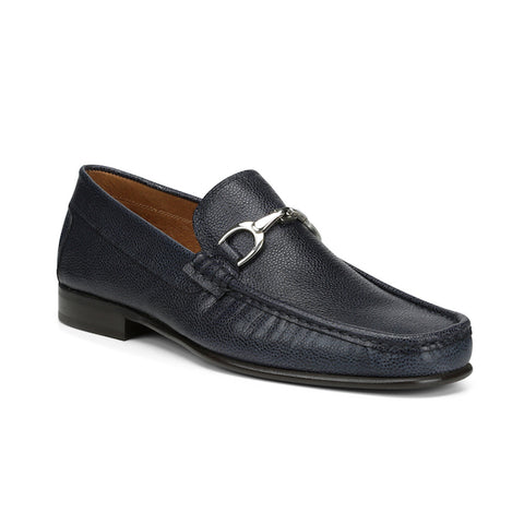 Donald J pliner Men's Darrin-S Navy Bit Loafer