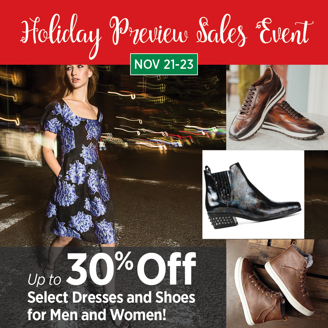 Holiday Preview Sales Event