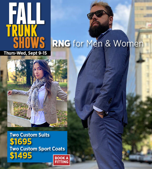 RNG sport coats and suits