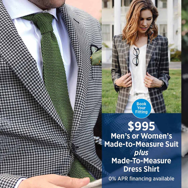 Made to Measure Suits, Custom Suit Sale
