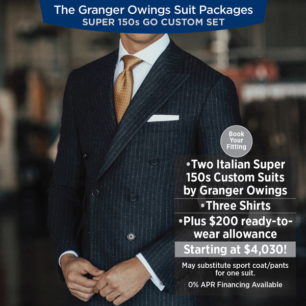 Super 150s Men's Custom Suit Columbia, SC