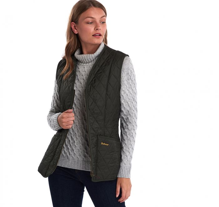 Barbour Dark Olive Fleece Betty Liner