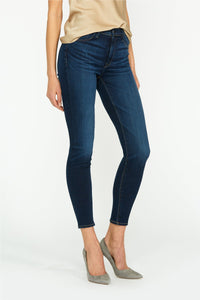 Barbara High Rise Super Skinny Jean in Baltic