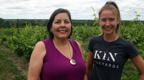 Ruth McKlusky and Melanie Hotte, KIN Vineyard
