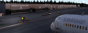 Scandinavian Mountains Airport (ESKS)