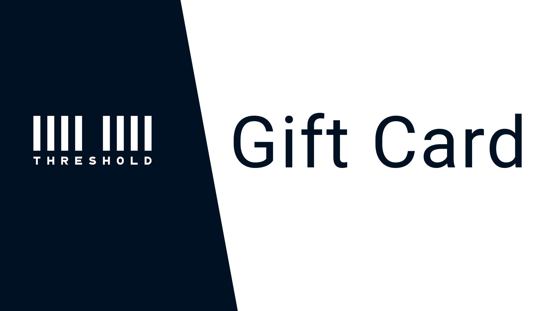 Threshold store Gift Card