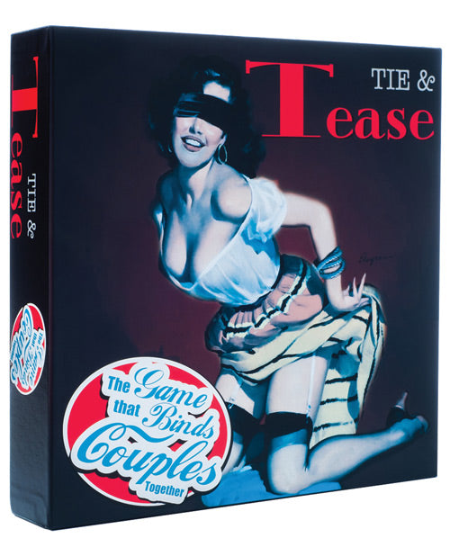 Tease Products Tie & Tease Board Game - Qlish