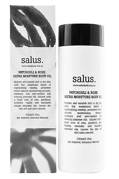 Body Oil Patchouli & Rose by Salus