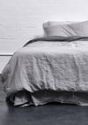 INBED Linen Duvet Cover in Cool Grey