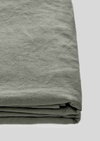 Linen Flat Sheet in Khaki