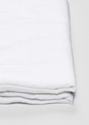 Linen Flat Sheet in White