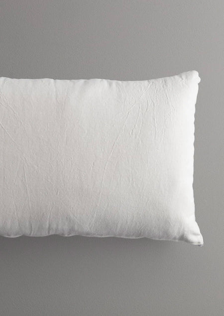 Natural Bedding Latex and Wool Contour Pillow