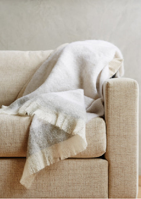 St Albans Mohair Mineral Throw