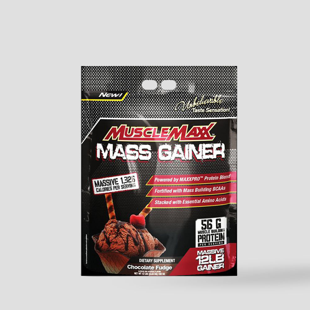 ALL MAX NUTRITION MUSCLEMAXX MASS GAINER