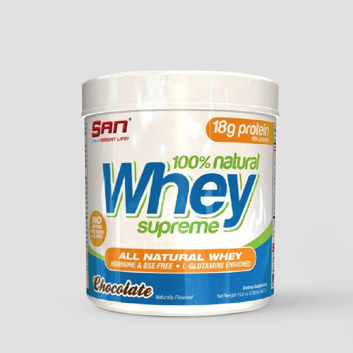 100% NATURAL WHEY SUPREME