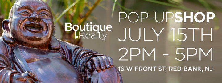 Happy Buddha at Boutique Reality's Pop-Up Shop in Red Bank!