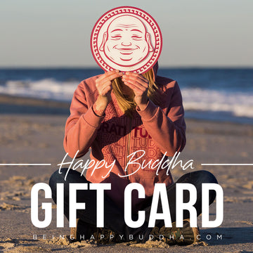 Happy Buddha Gift Card - Being Happy Buddha