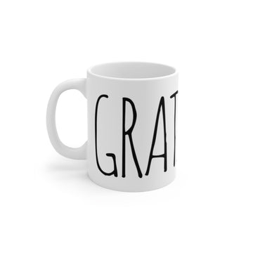Gratitude Mug - Being Happy Buddha