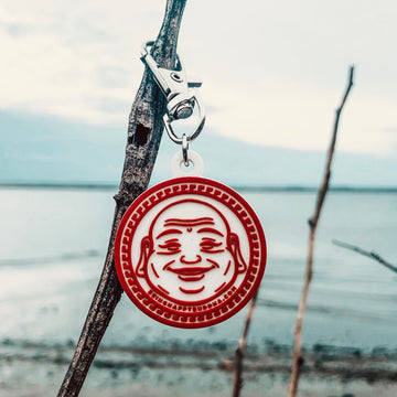 Happy Buddha Keychain - Being Happy Buddha