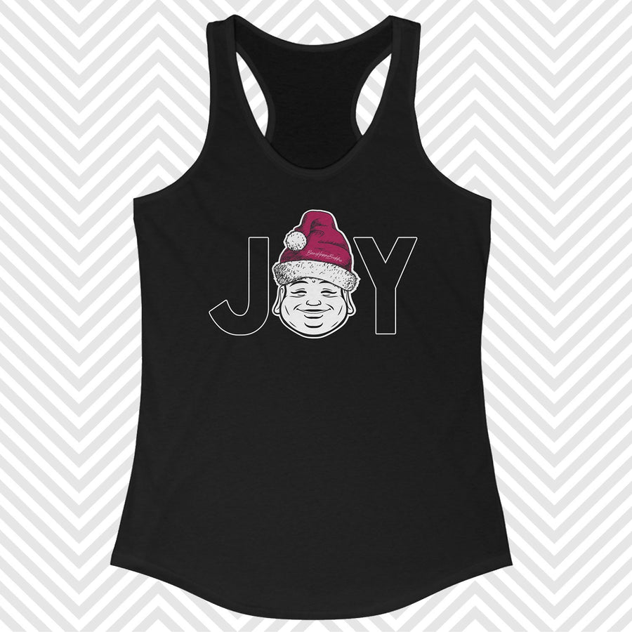 Santa Happy Buddha Racerback Tank - Being Happy Buddha