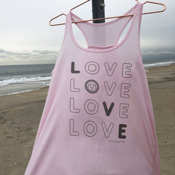 Soft Love Flowy Tank - Being Happy Buddha