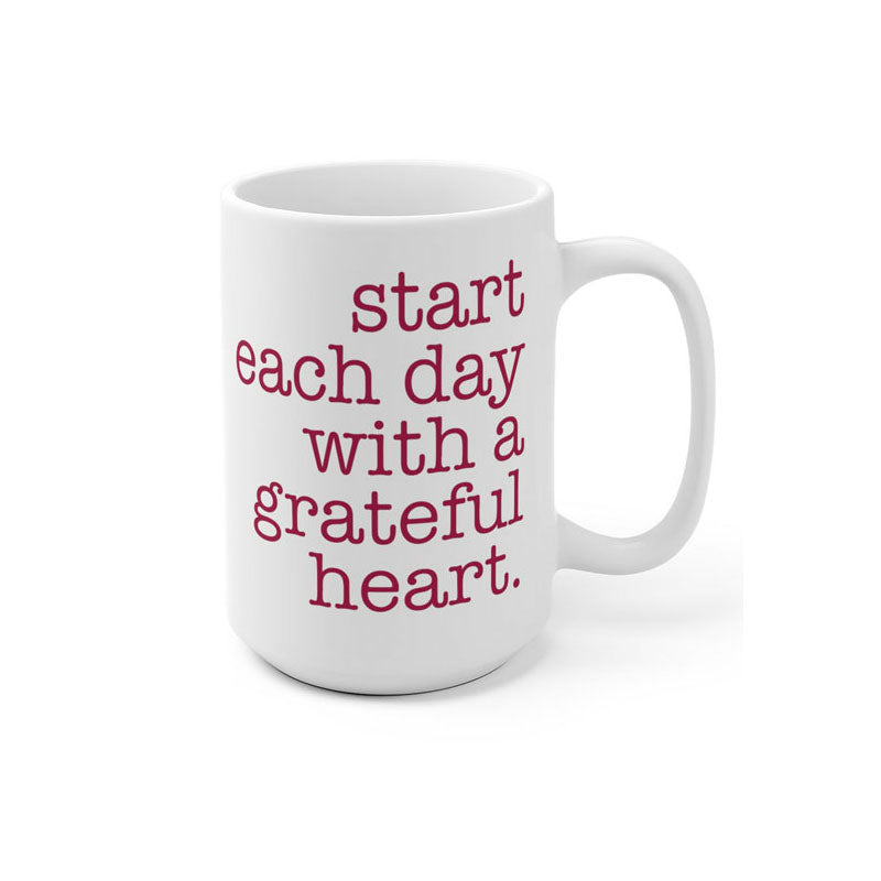 Morning Gratitude Mug - Being Happy Buddha