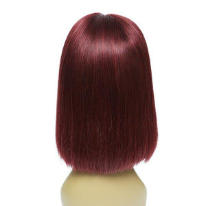 """10-14"" Inch 13x6 Deep Part Lacefront Bob Wigs"