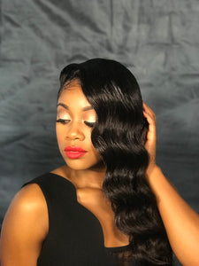 January/Premium Indian Hair Lace Front Wig