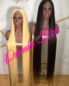 40 inch  full lace wig