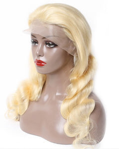 July Blonde Body Wave Wig No glue,smooth,natural, flawless hairline