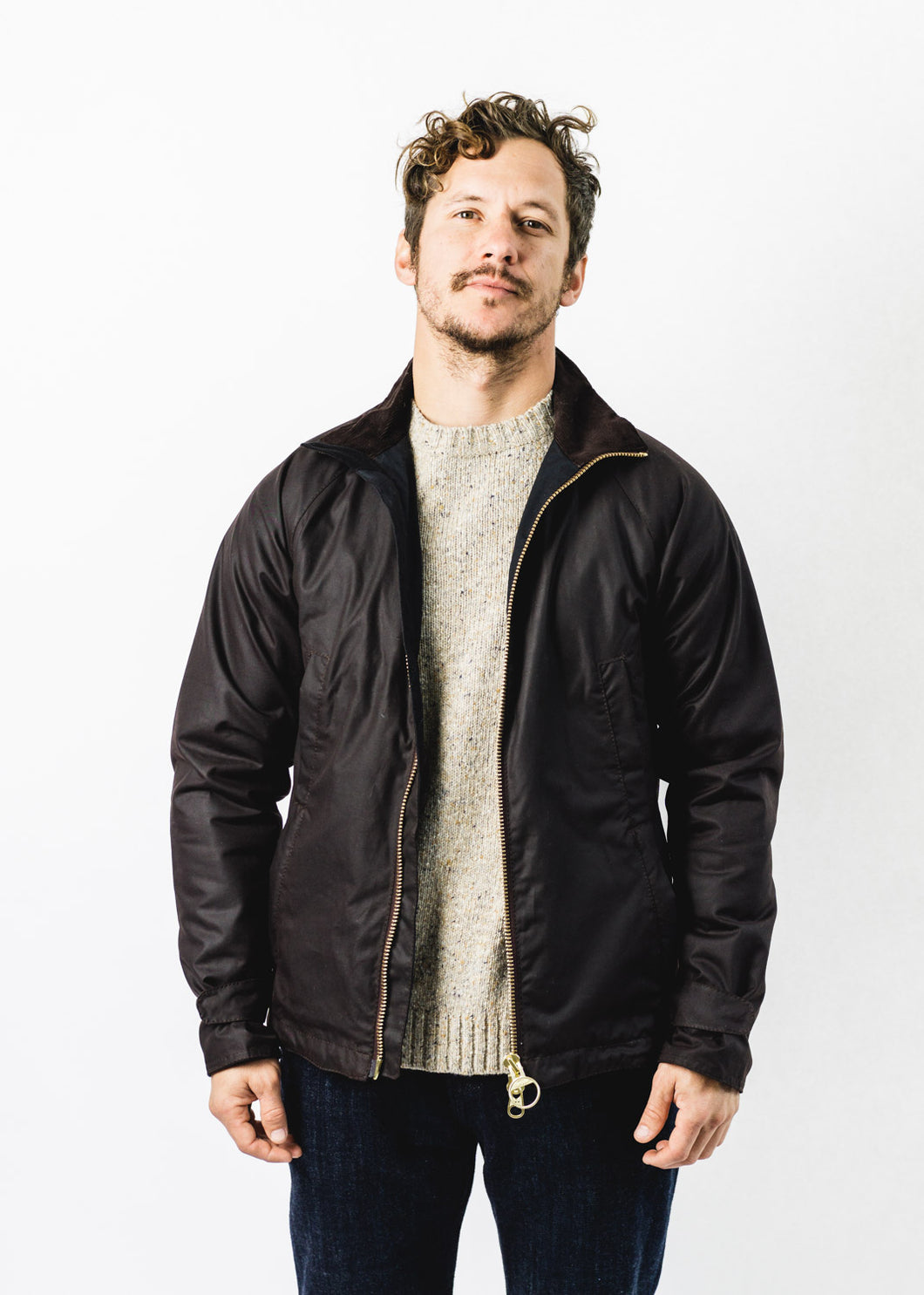 BARBOUR FLOCCUS WAX JACKET