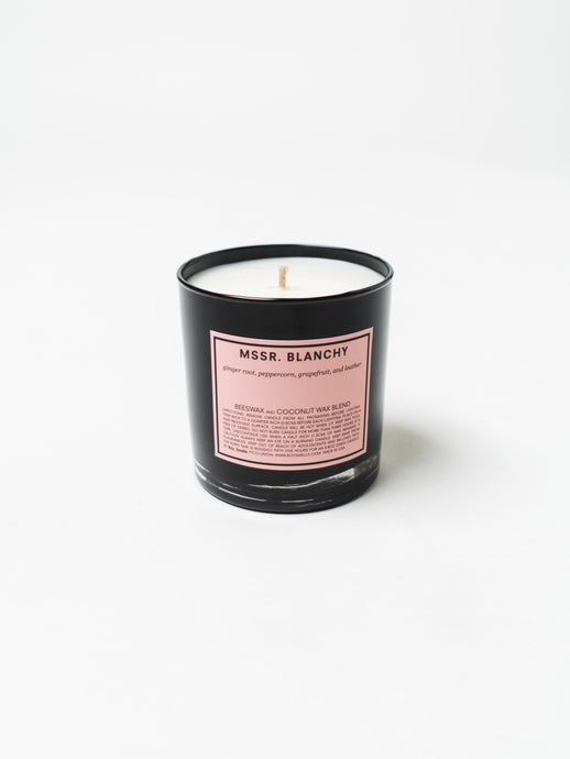 BOY SMELLS MSSR. BLANCHY CANDLE